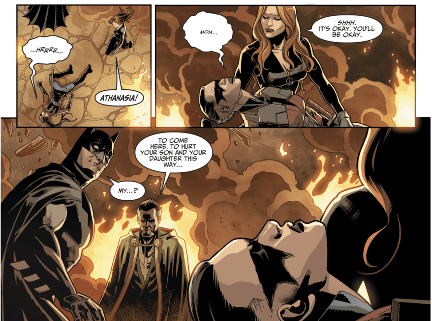 Batman Has A Daughter (Injustice II)