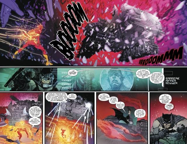 Batman VS The Flash (Earth 52)
