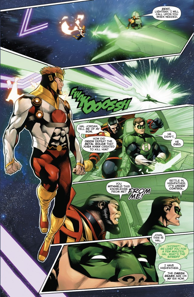 Hal Jordan Can Fly As Fast As Lightray
