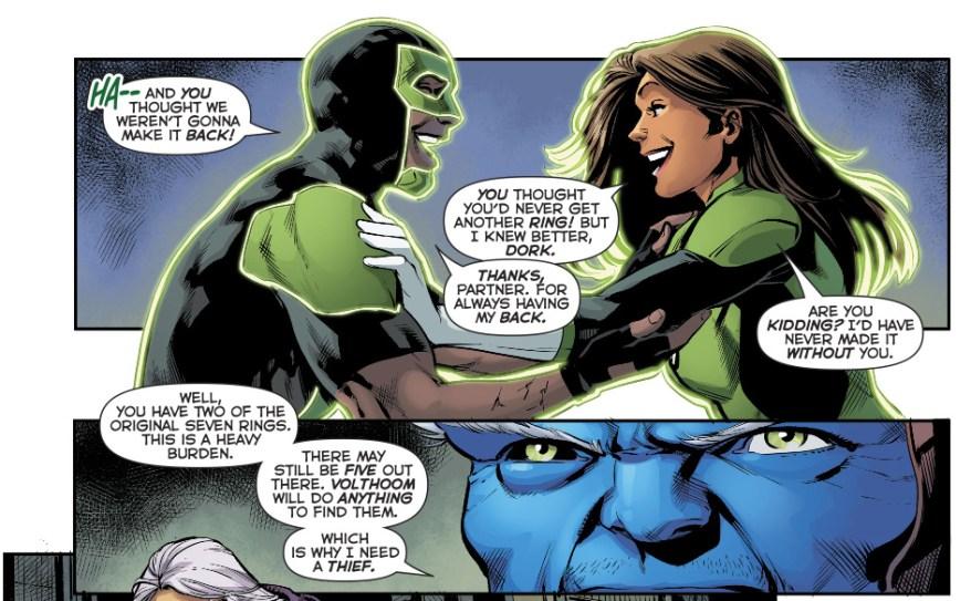 Simon Baz Earns An Original 7 Green Lantern Ring