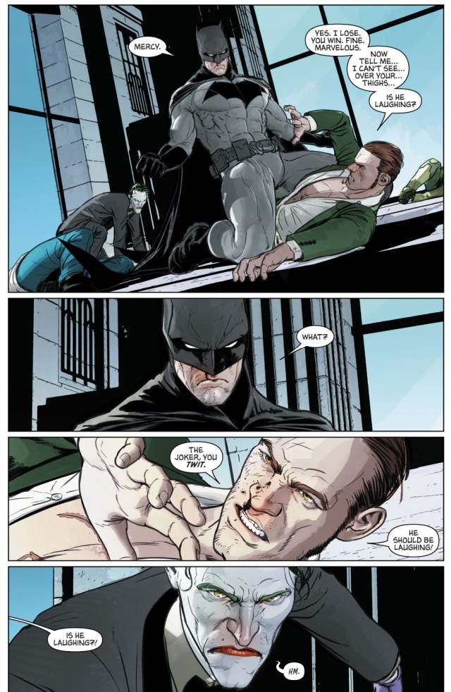 Batman VS The Joker And The Riddler