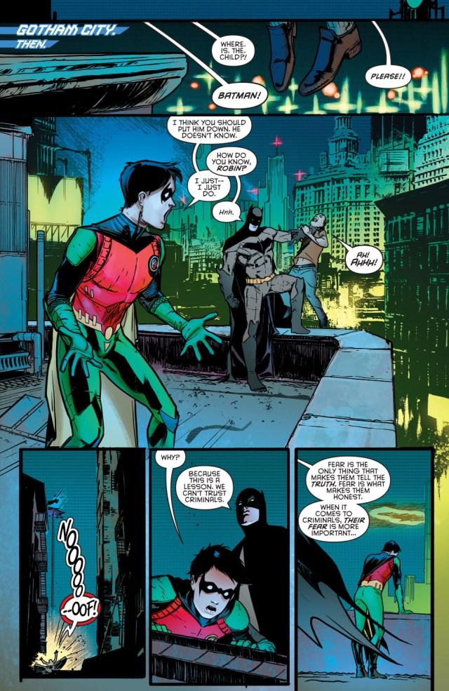 Batman's Lesson To Robin About Criminals (Rebirth)