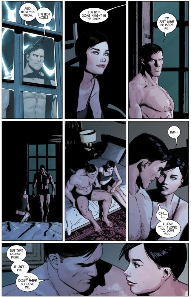 Catwoman Says Yes To Batman