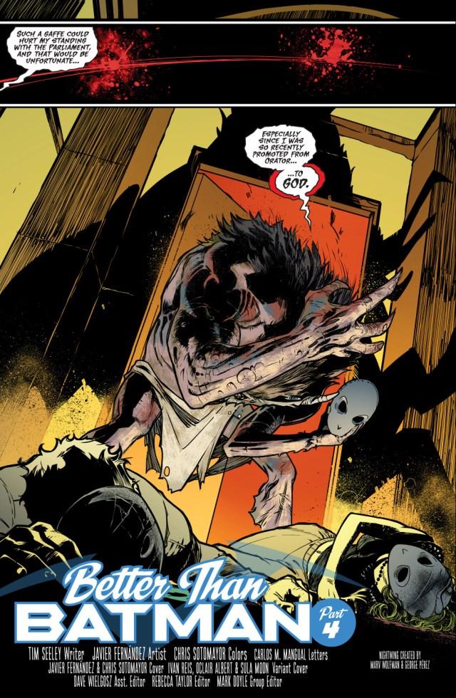 Nightwing And Raptor VS Moloch