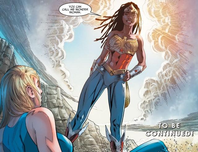 Nubia As Wonder Woman (Injustice II)