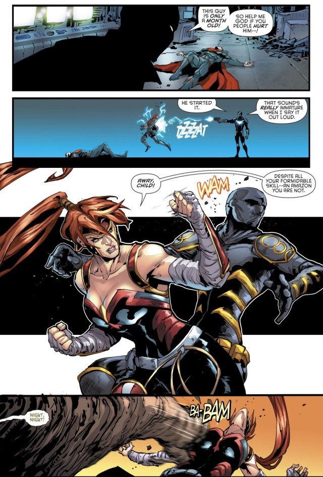 Red Hood And The Outlaws VS The Batman Family