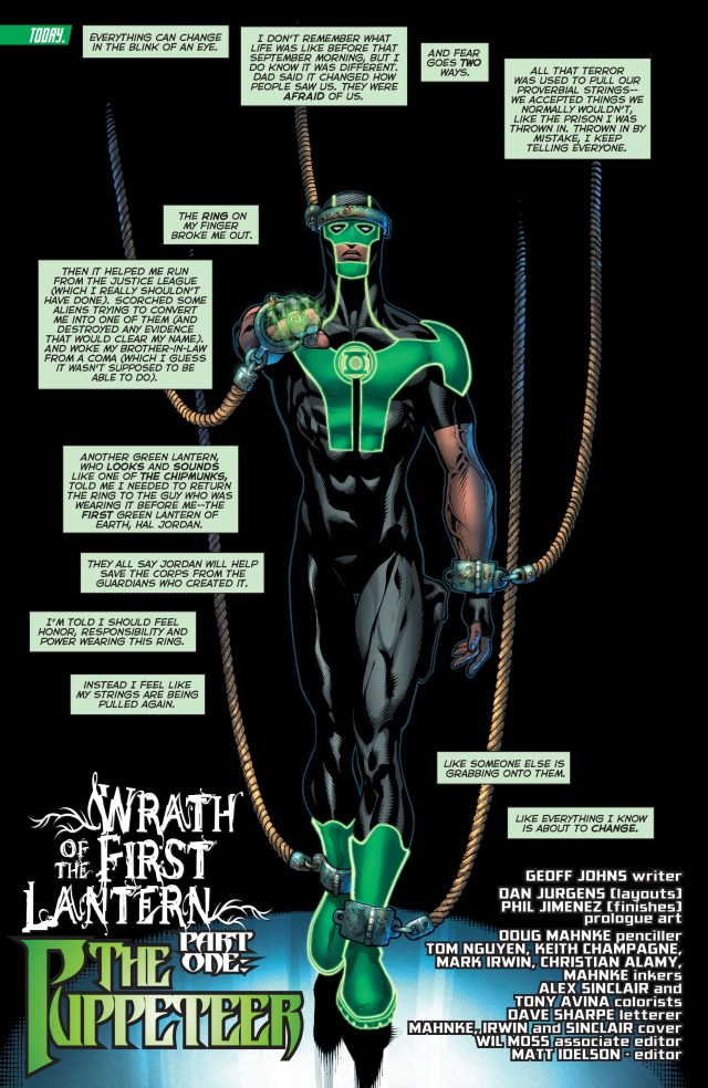 Simon Baz (Green Lantern Vol 5 #17)