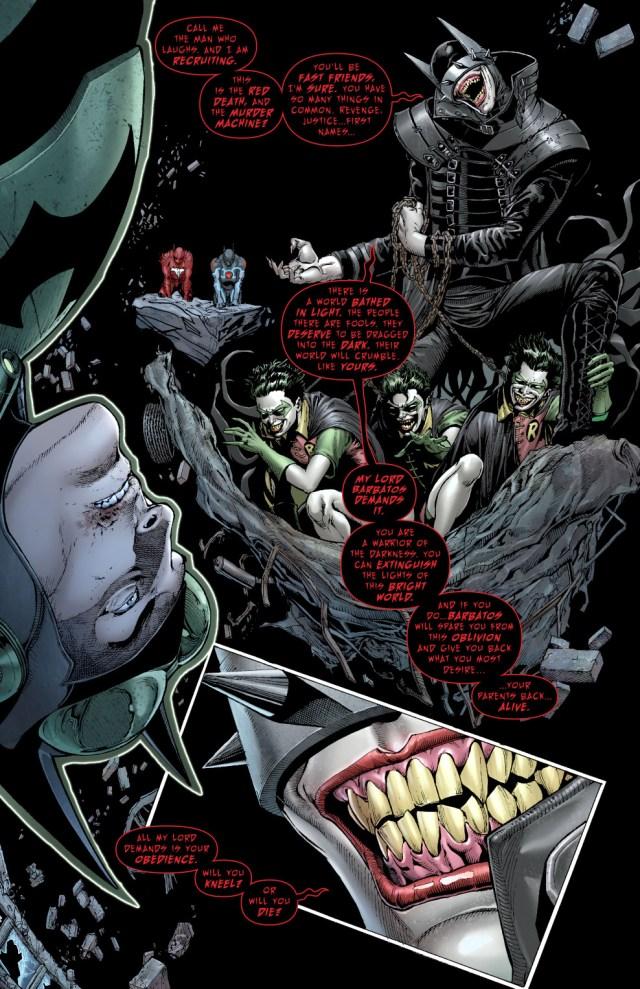 The Batman Who Laughs Recruits The Dawnbreaker