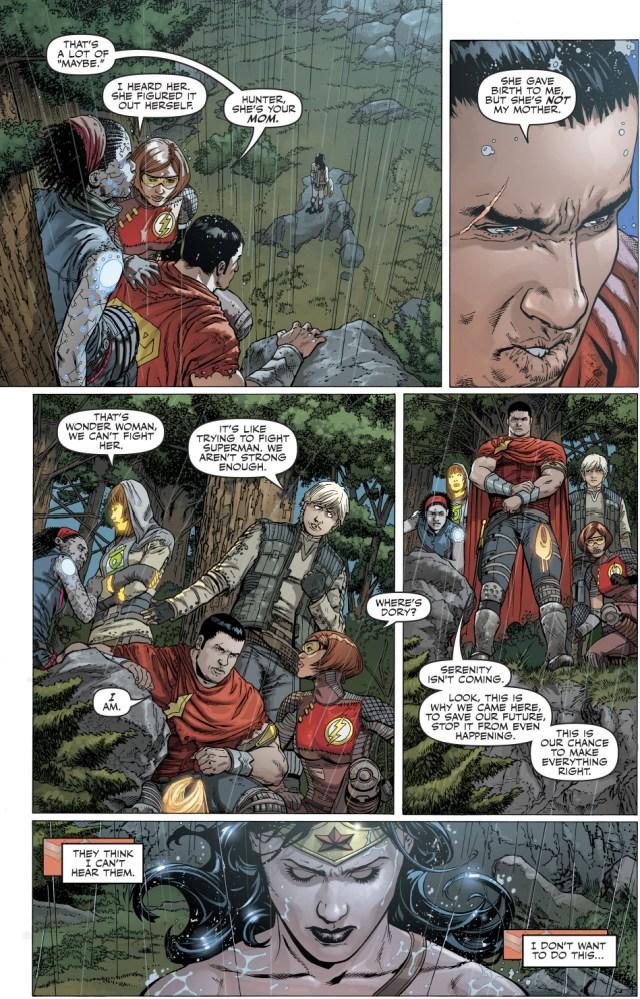 Wonder Woman VS The Justice League's Children