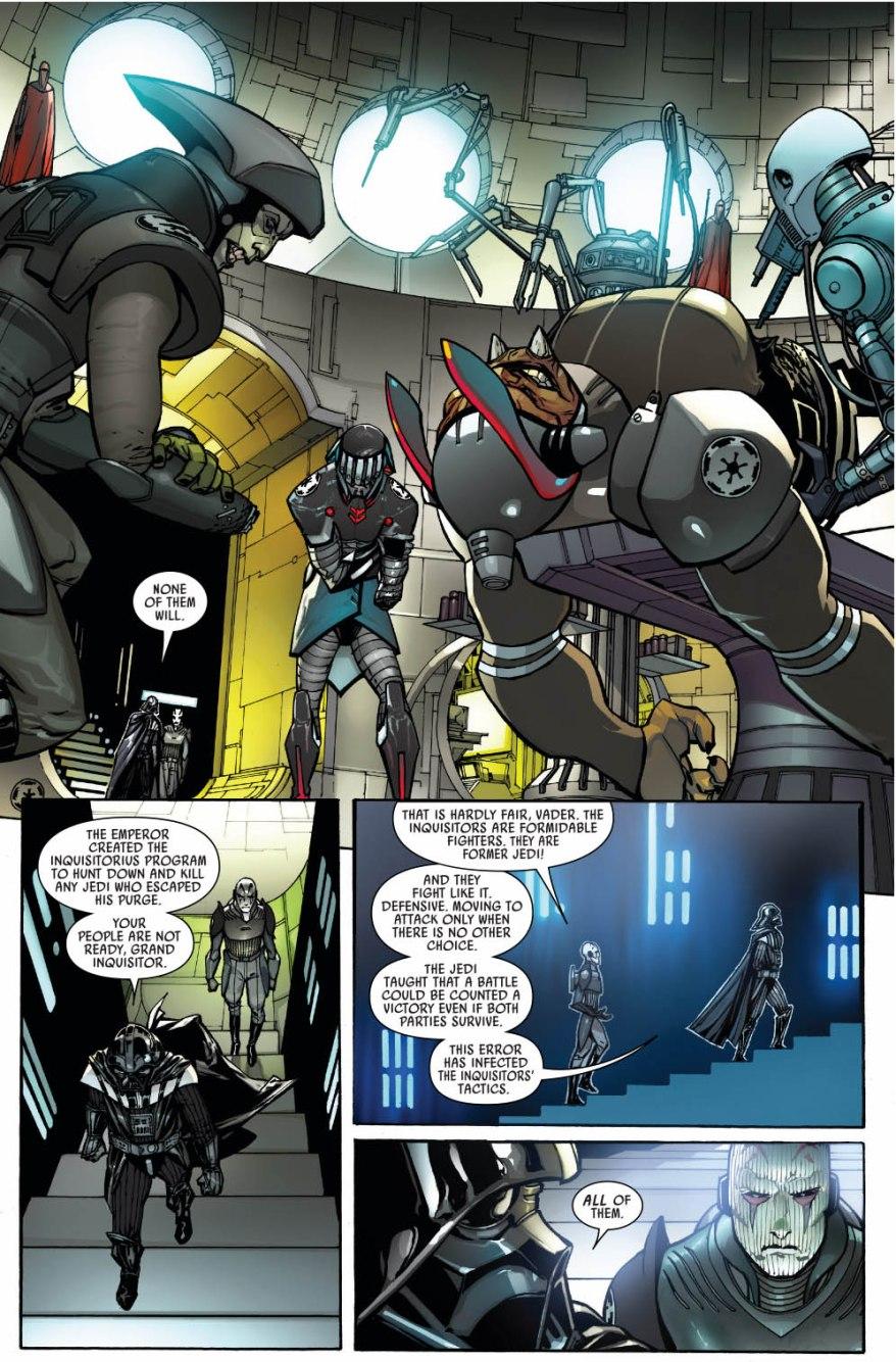 Darth Vader Trains The Inquisitorius