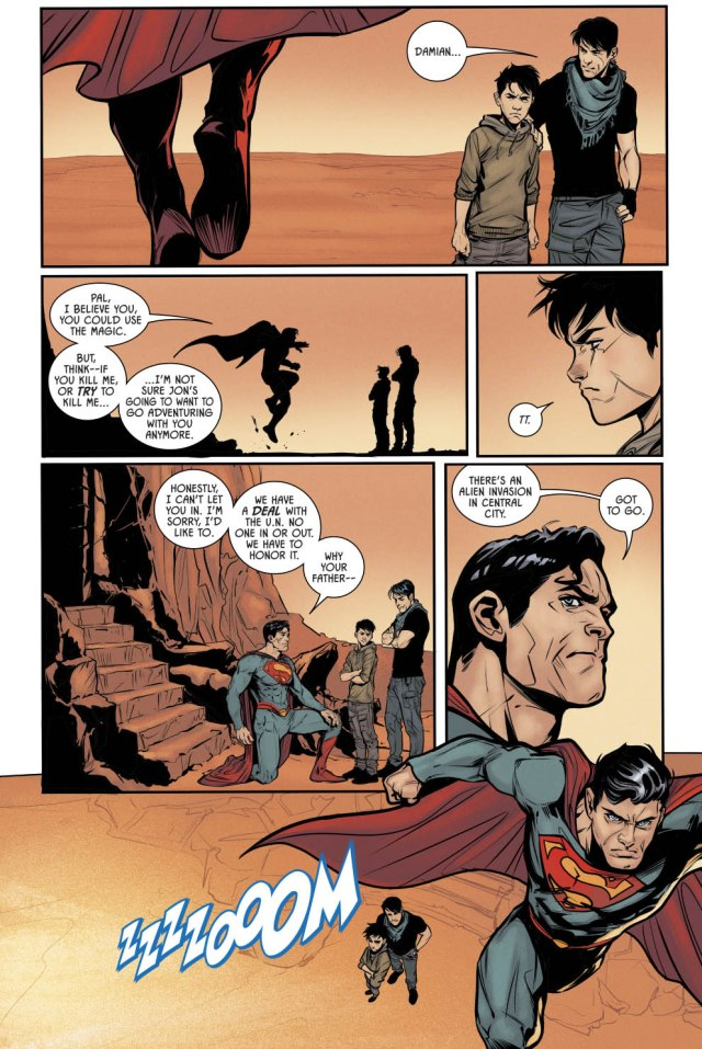 How Damian Wayne Plans On Defeating Superman (Rebirth)