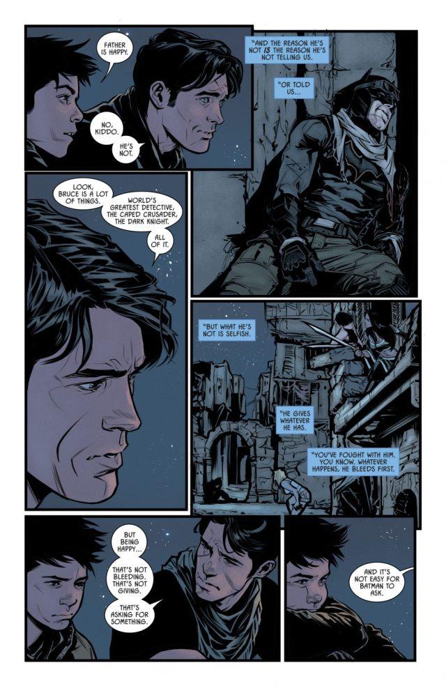 Nightwing Understands Batman Like No One Else (Rebirth)
