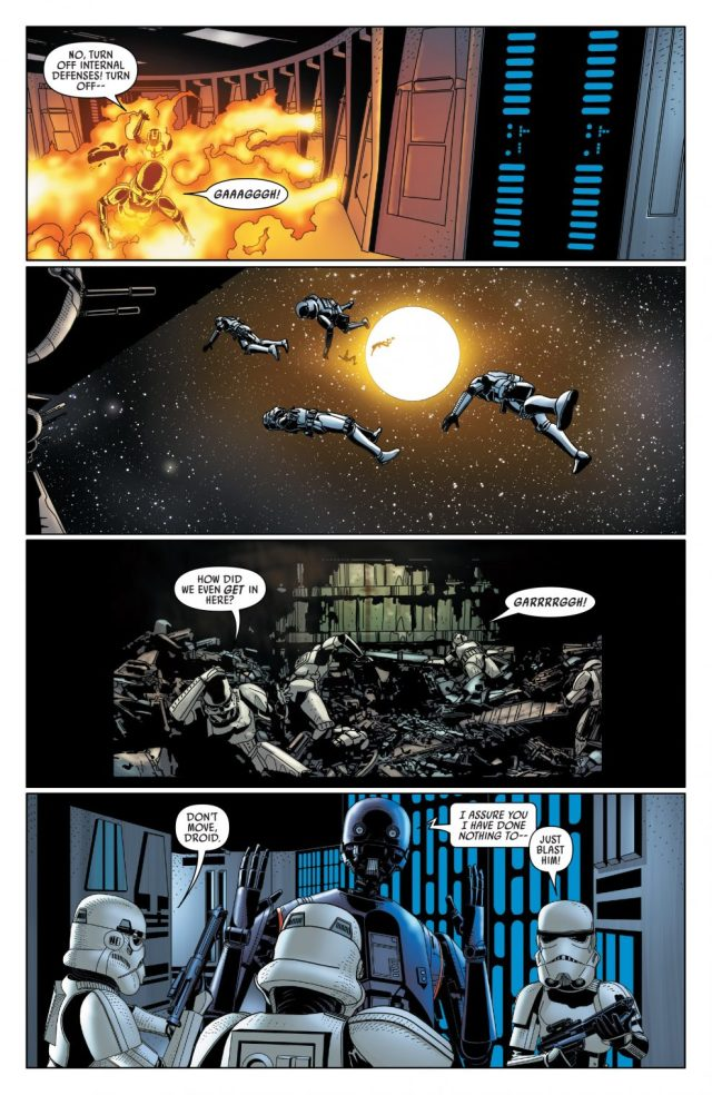 R2-D2 Takes Out Two Dozen Stormtroopers