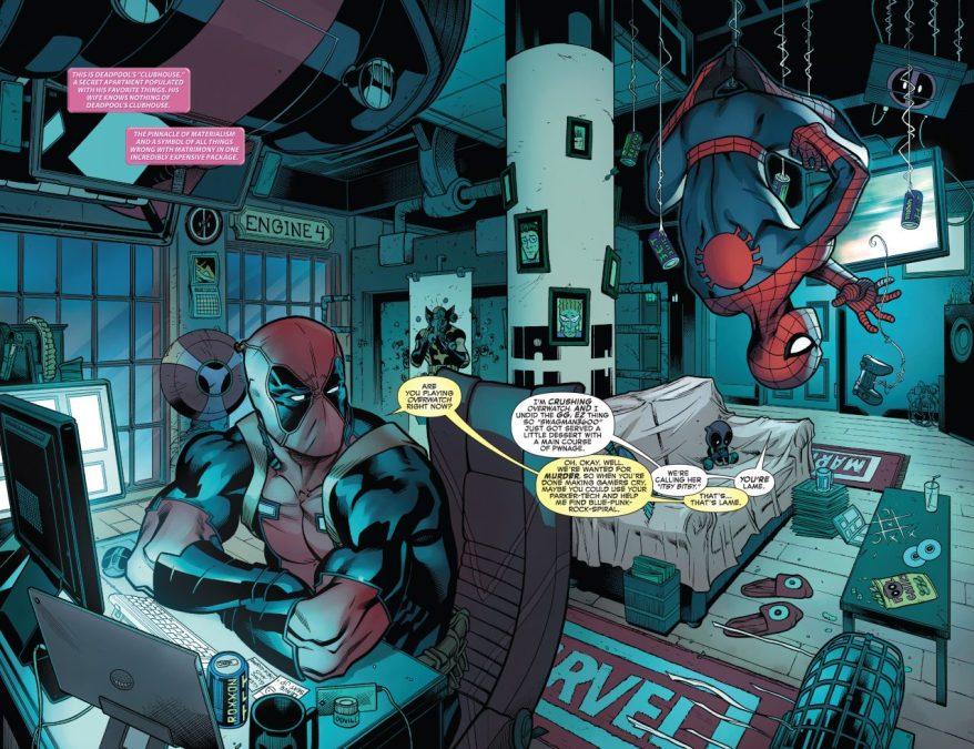 From –Spider-Man – Deadpool #9