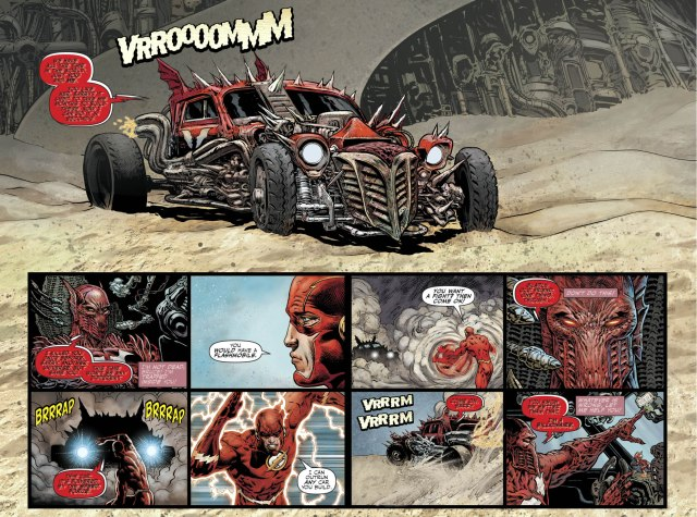 The Red Death's Flashmobiles