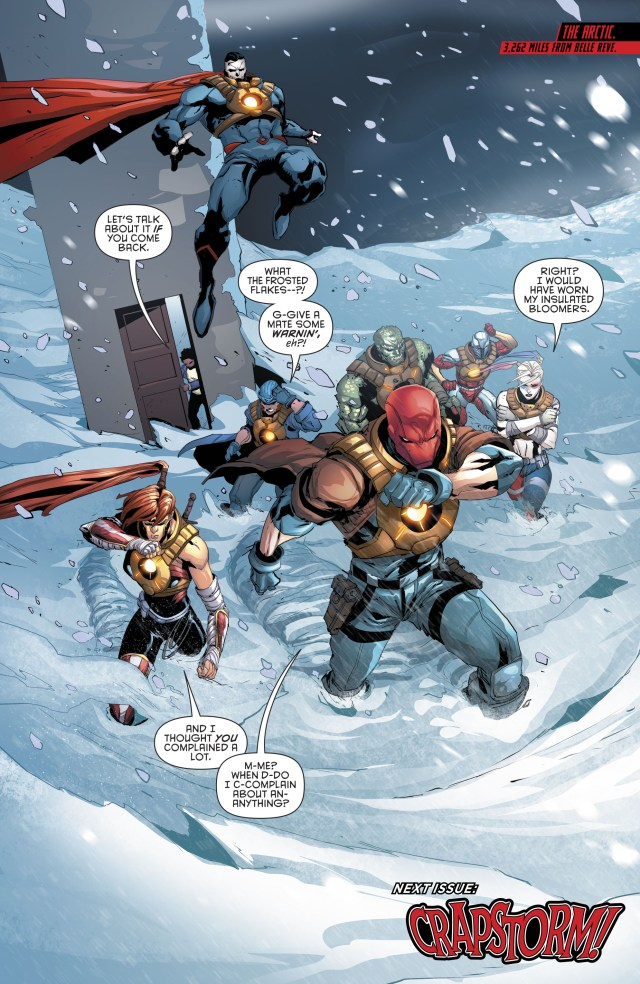 The Suicide Squad, Red Hood And The Outlaws