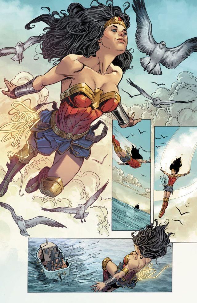 Wonder Woman Finds Her Twin Brother