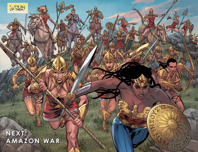 Wonder Woman Nubia And The Amazons