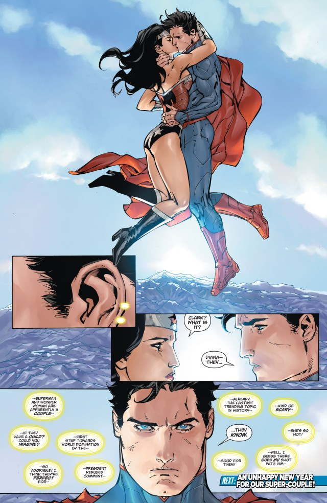 Wonder Woman's Christmas Gift To Superman (New 52)