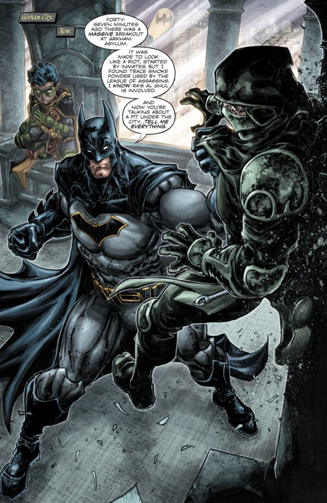 Batman And Robin (Batman - Teenage Mutant Ninja Turtles II )