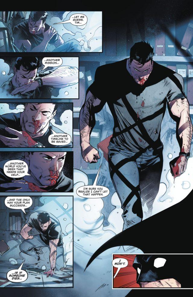 Bruce Wayne VS Batman Tim Drake (Rebirth)