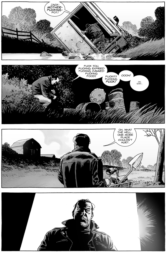 Negan Makes A New Lucille (The Walking Dead)