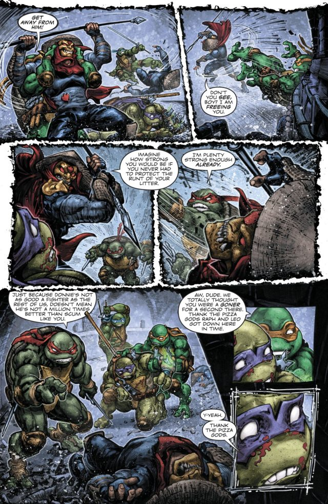 Teenage Muntant Ninja Turtles VS Foot Clan