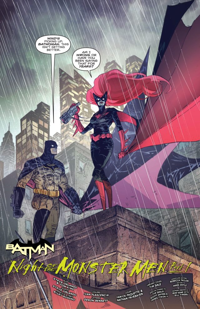 Batman And Batwoman (Batman Vol 3 #7)