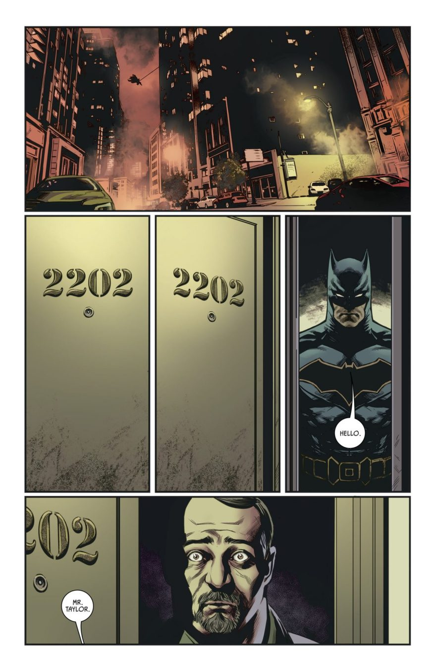 Batman's Detective Skills (Rebirth)