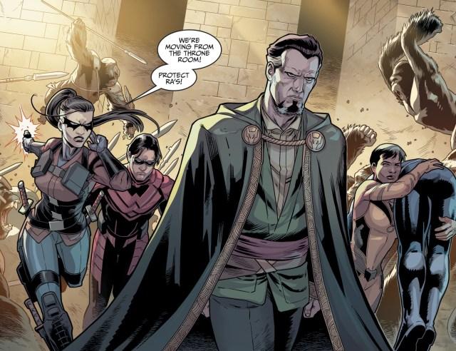 Ra's Al Ghul And Family (Injustice II #43)