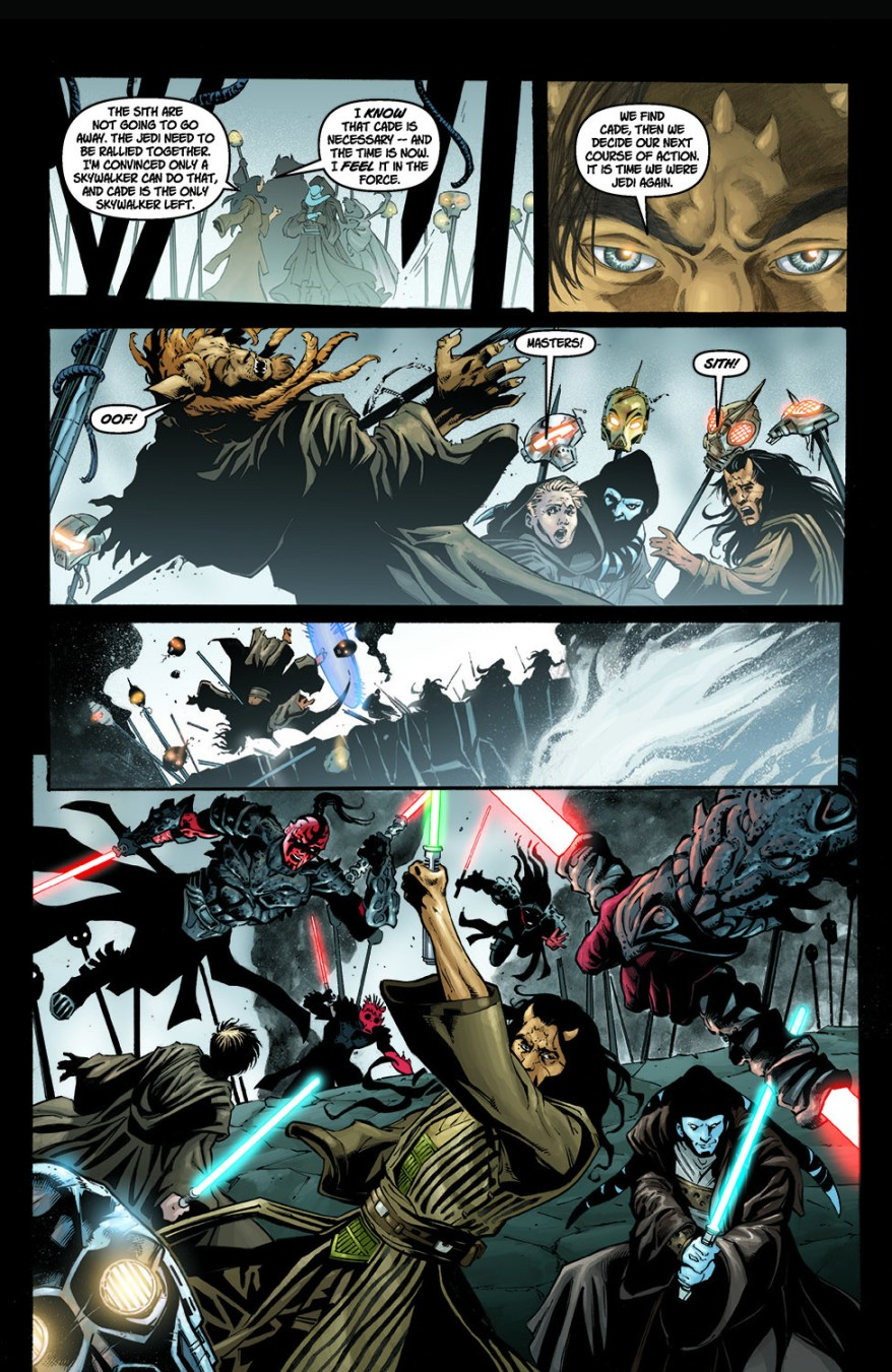 Wolf Sazen And Shado Vao VS Sith