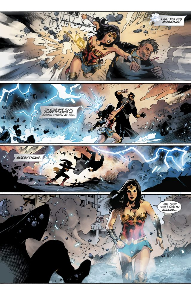 Wonder Woman VS Major Disaster (Rebirth)