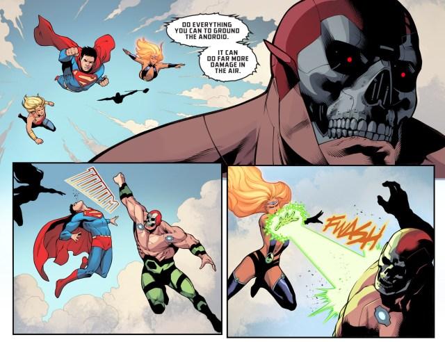 Batman's Team VS Amazo (Injustice II)