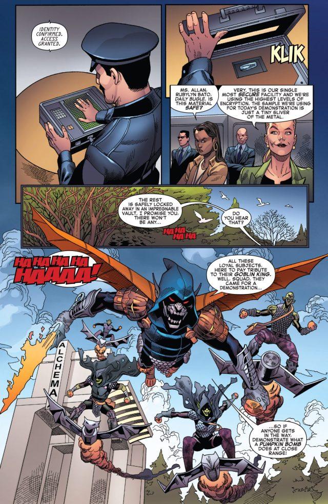 Spider-Man And Agent Anti-Venom VS Goblin King