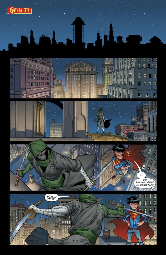Superboy Learns Of Robin's History (Rebirth)
