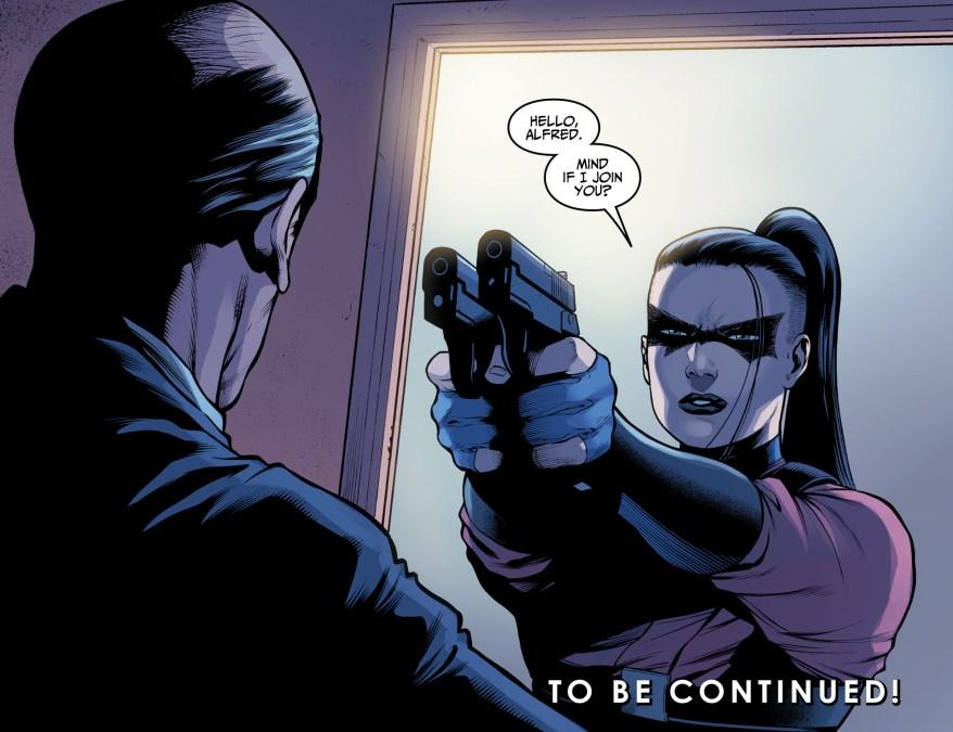 Athanasia Al Ghul Shot Catwoman (Injustice II)
