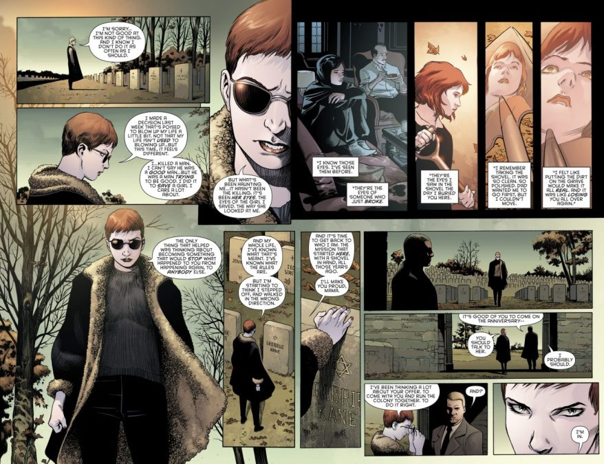 Batwoman Joins The Colony