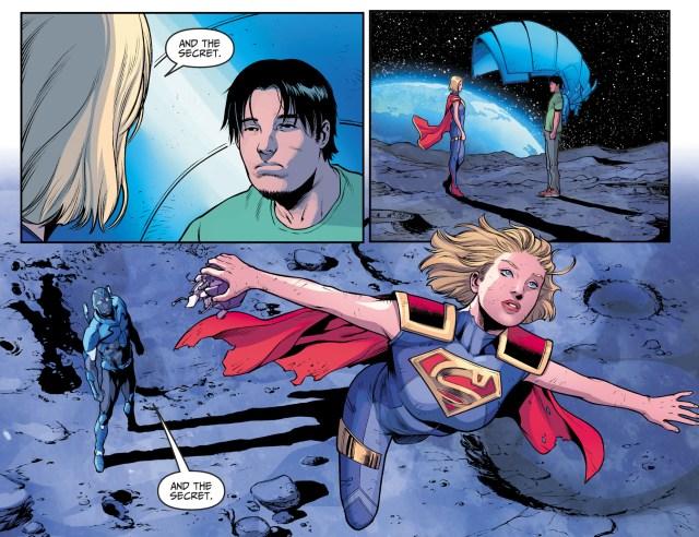 Blue Beetle Meets Supergirl (Injustice II)