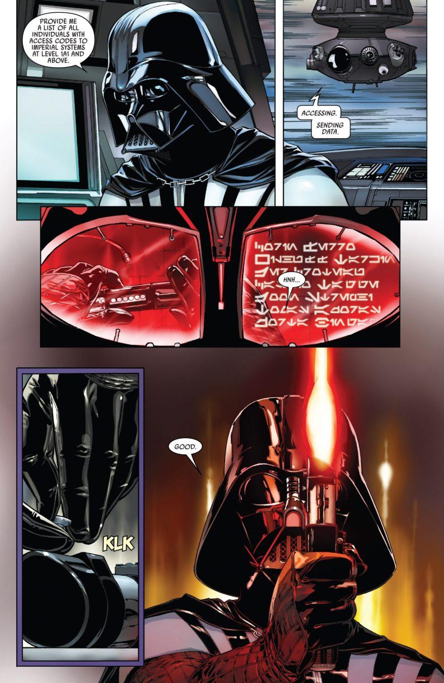 Darth Vader Creates A New Lightsaber Hilt