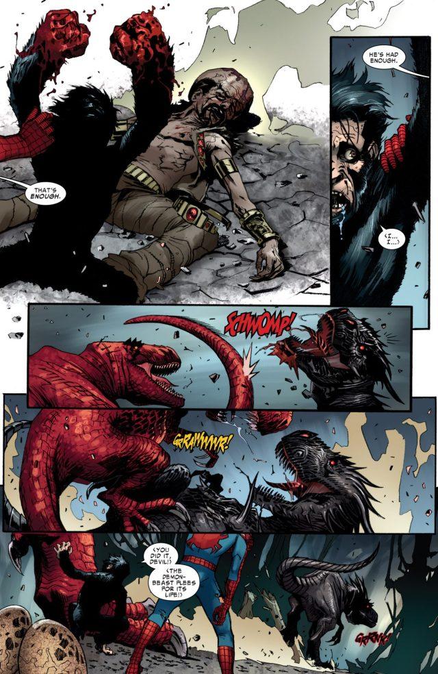 Devil Dinosaur VS Demon Dinosaur