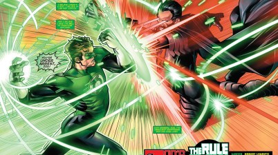 Green Lantern Hal Jordan VS General Zod