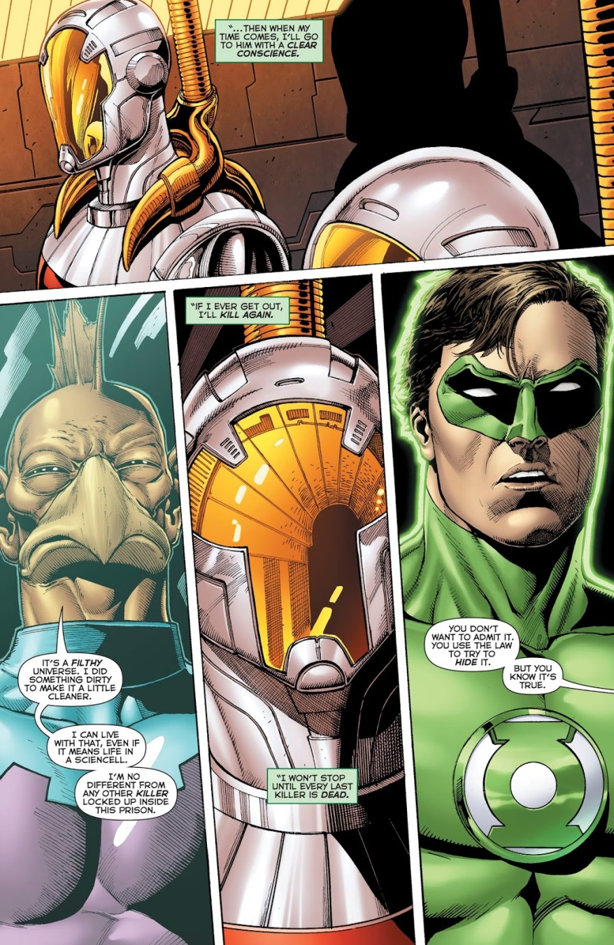 Green Lantern Tomar-Tu Is Ok With Killing Criminals