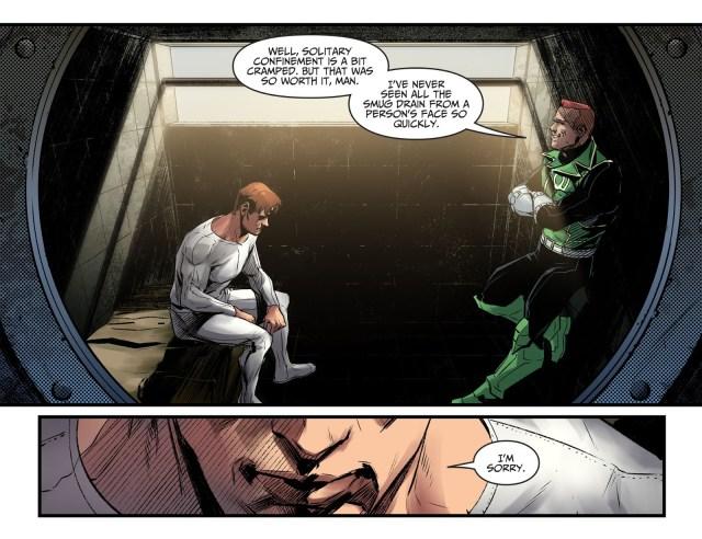 Hal Jordan Feels Guilty About Guy Gardner (Injustice II)