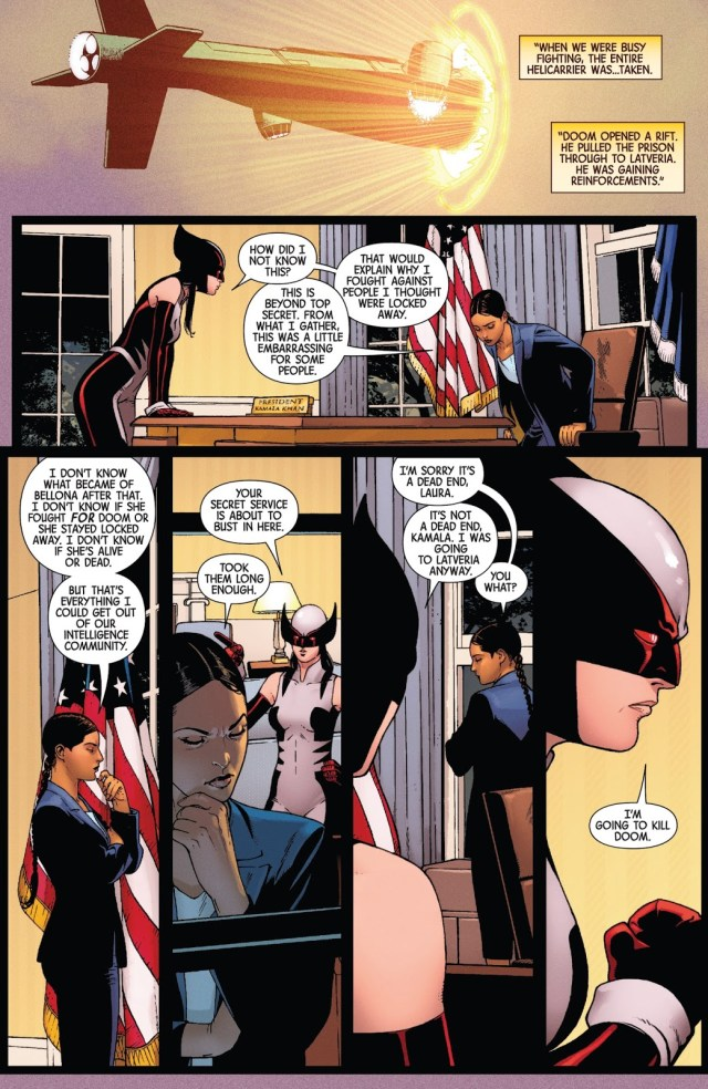 Kamala Khan Is President Of The United States
