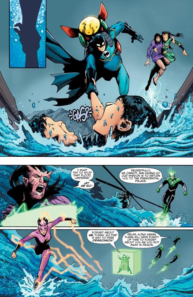 New Super-Man Defeats The Lantern Corps Of China