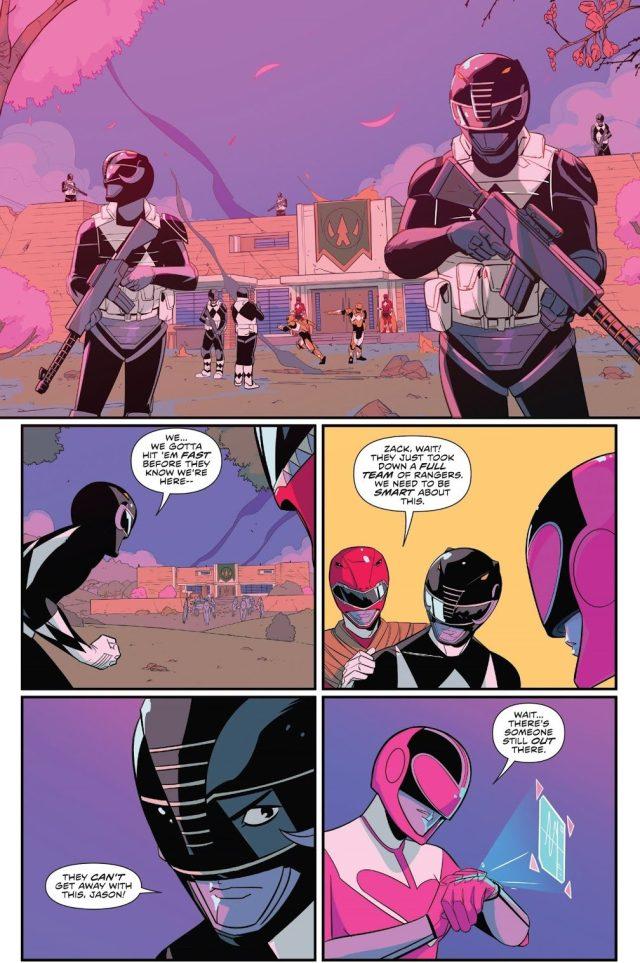 Power Rangers Rescues Red Samurai Ranger
