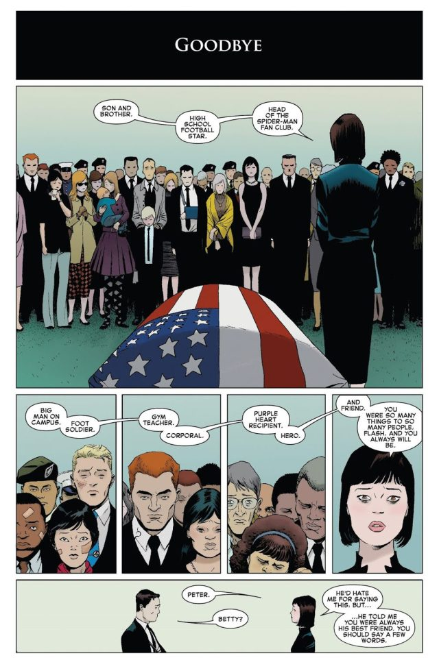 Flash Thompson's Funeral