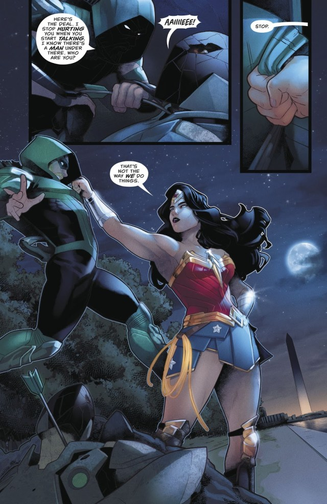 Green Arrow And Wonder Woman Team Up (Rebirth)
