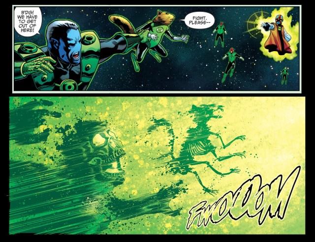 Starro Mind Controlling The Green Lantern Corps (Injustice II)