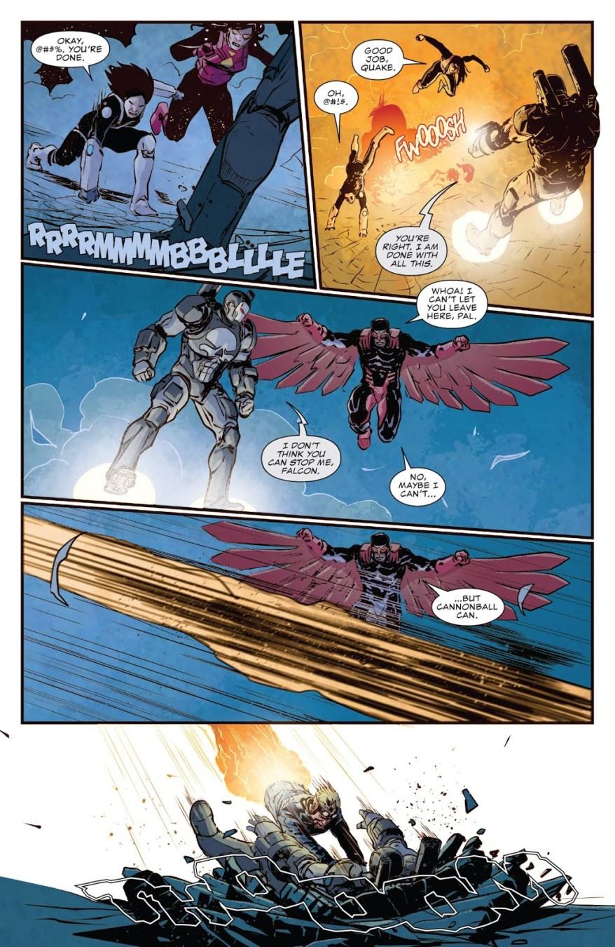 The Punisher (War Machine) VS The Avengers